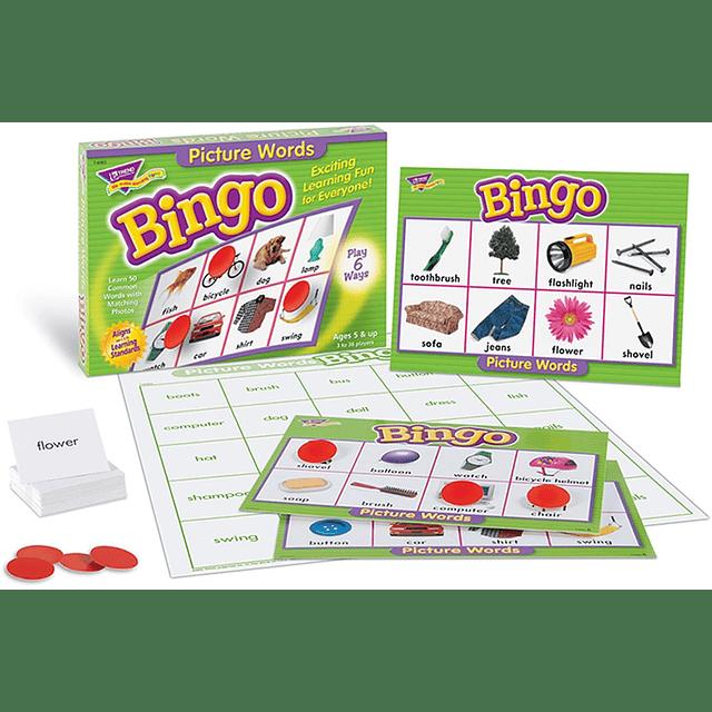 Bingo Picture Words