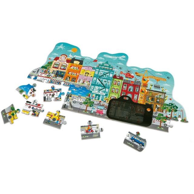 Puzzle Animado de Ciudad