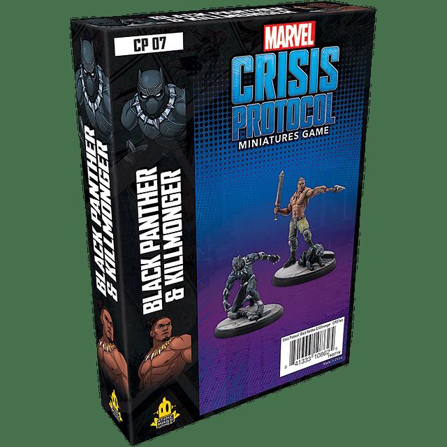 Marvel Crisis Protocol: Black Panther and Killmonder