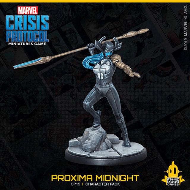 Marvel Crisis Protocol: Corvus Glaive and Proxima