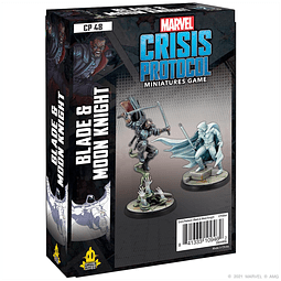 Marvel Crisis Protocol: Blade and Moon Knight