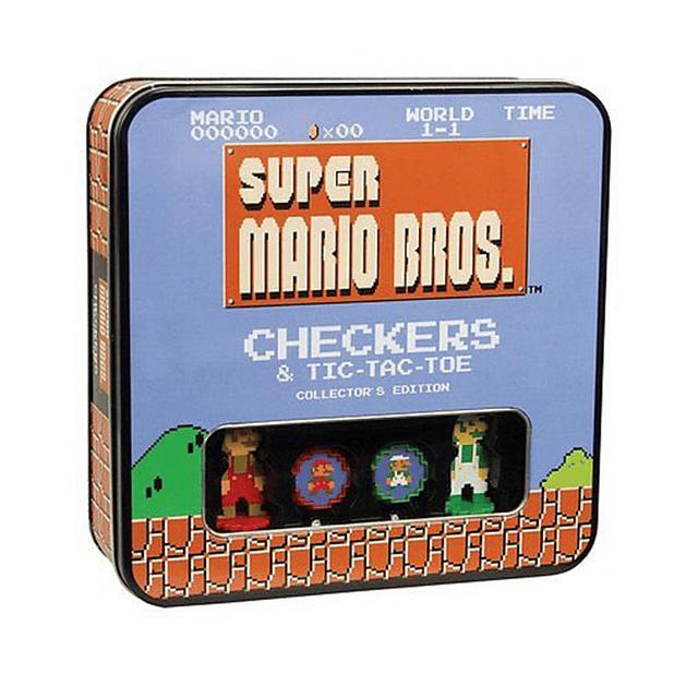 Checkers Combo: Super Mario Classic