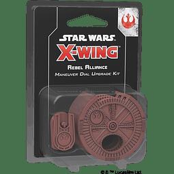 X-Wing 2nd Ed: Rebel Alliance Maneuver Dial Upgrade Kit