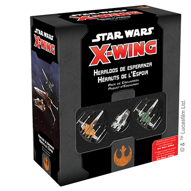 X-Wing 2nd Ed: Heraldos de Esperanza