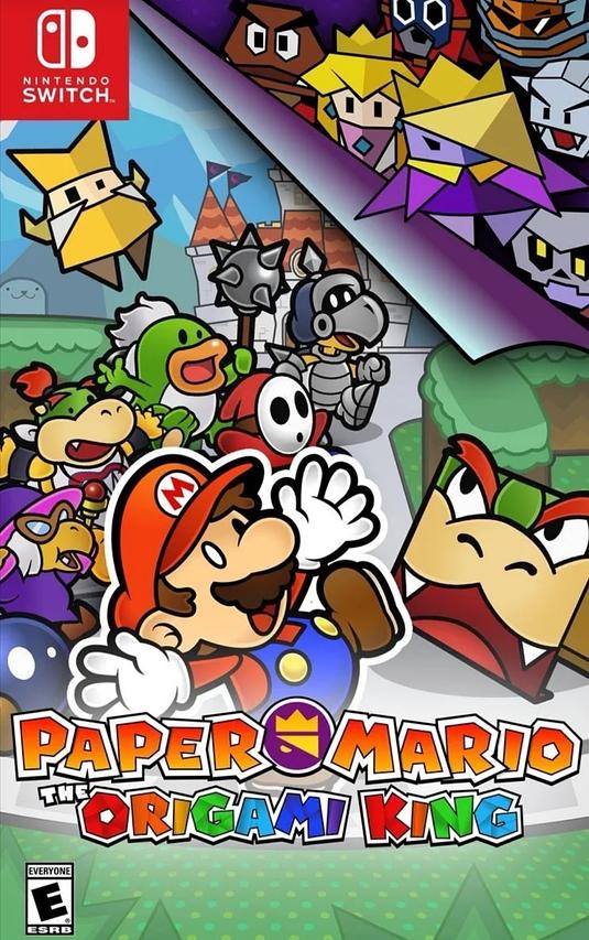 Paper Mario Nuevo Nintendo Switch
