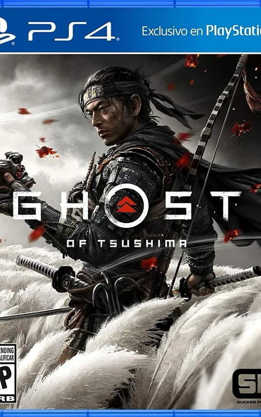Ghost Of Tsushima Ps4 Físico Español Latam