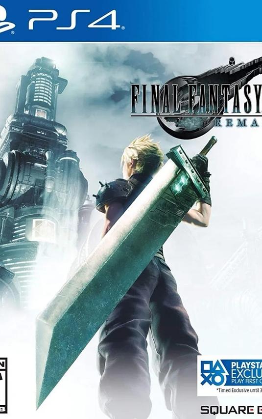 Final Fantasy 7 Vii Remake Ps4 Nuevo, Sellado