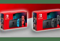 Nueva Switch Neón o Gris Mod Nuevo 40% mejora batería
