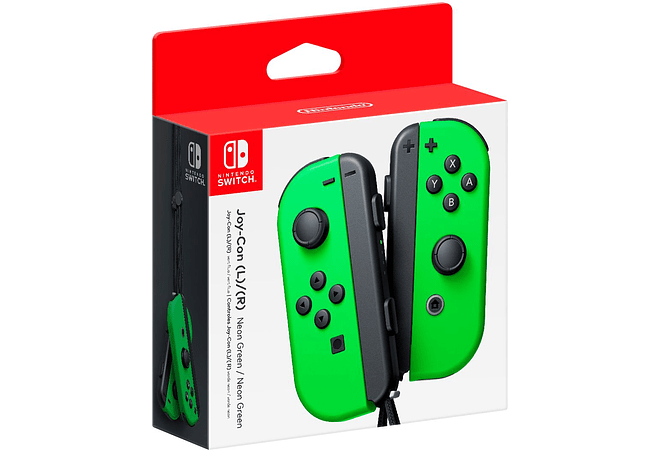 Control Nintendo Switch Joycon L Y R GREEN