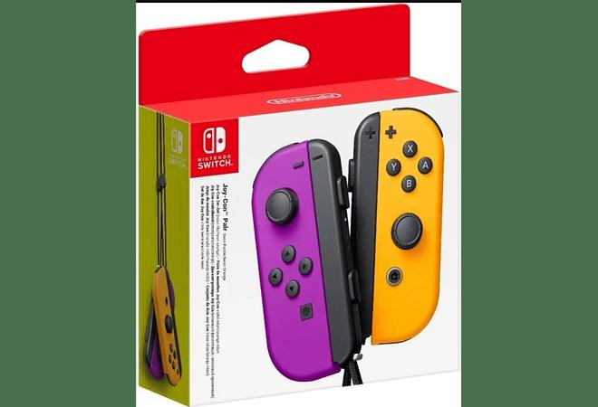 Joycon purple orange Nuevos