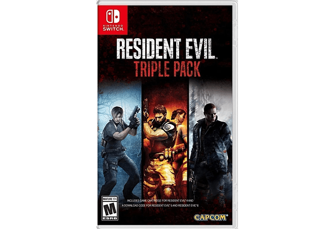 Resident Evil Triple Pack Switch Nuevo