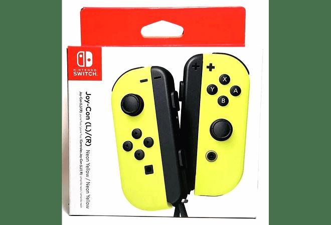 Joycon Yellow Nintendo Switch