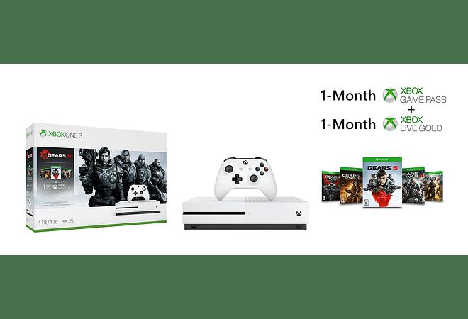 Xbox One S 1TB con Gears of War 5 FISICO