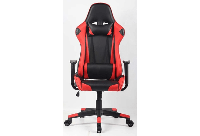Silla Gamer Roja Reclinable