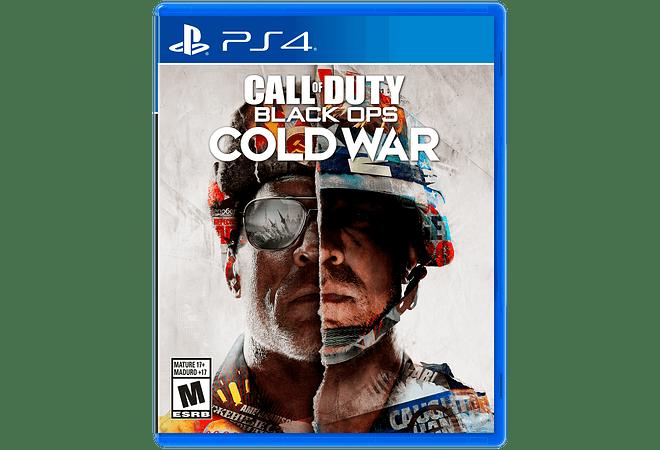 Call of Duty Cold War PS4 Nuevo en español