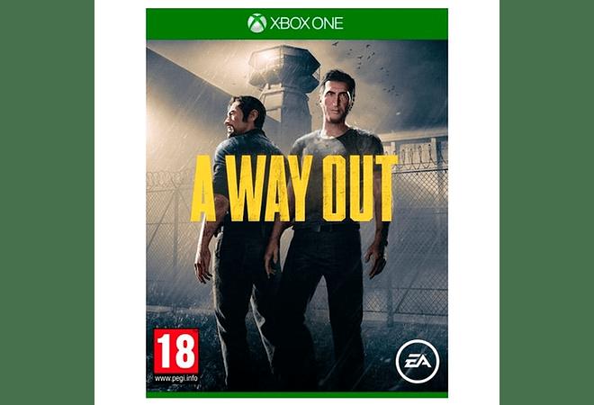 A way Out Xbox One Nuevo Español