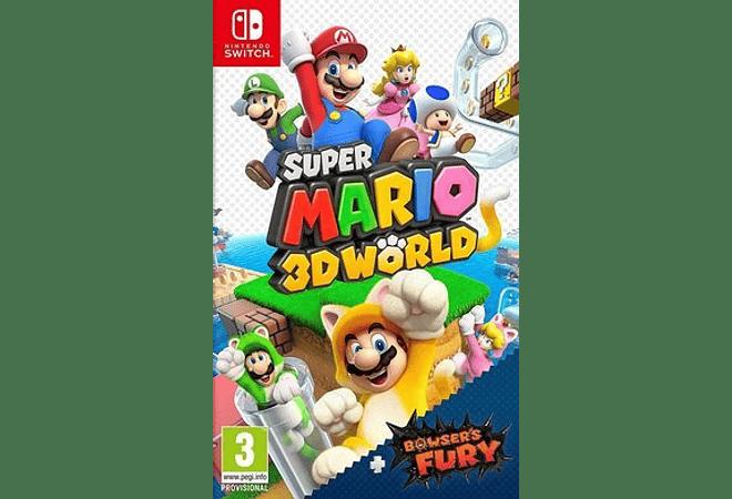 Super Mario 3d World + Bowser's Fury Switch Físico