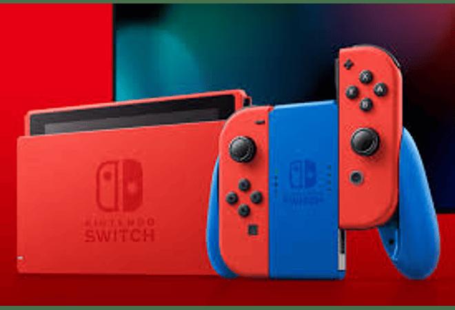 Nintendo Switch Ed Mario Roja/Azul 35Th aniversario