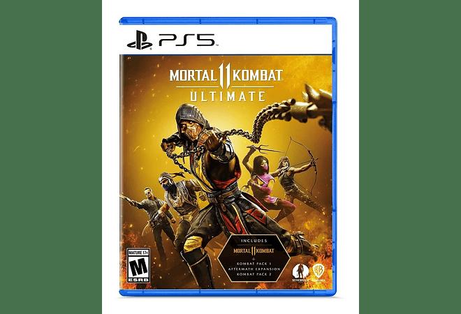 Sony Playstation 5 Ps5 Mortal Kombat 11 Ultimate Juego