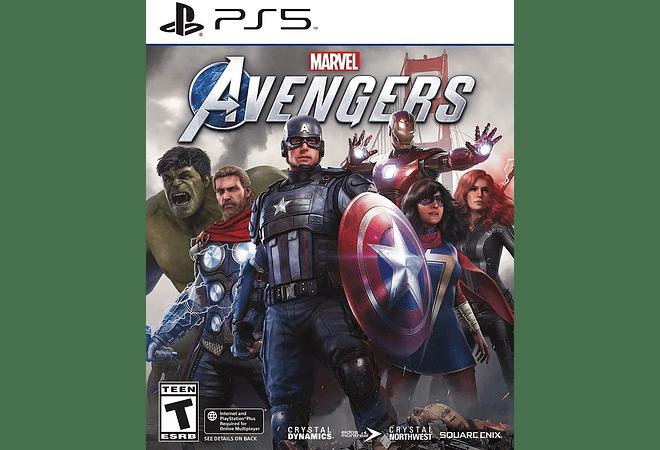 Juego Marvel Avengers Ps5 Playstation 5 Nuevo Y Sellado