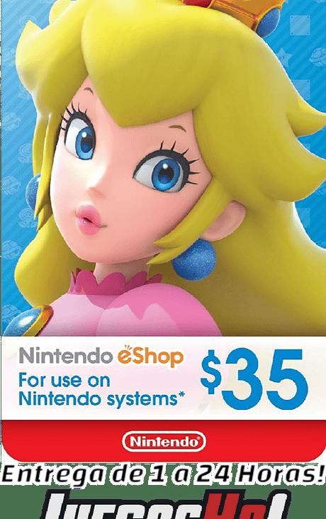 Nintendo Eshop 35USD USA Cuenta Estados Unidos