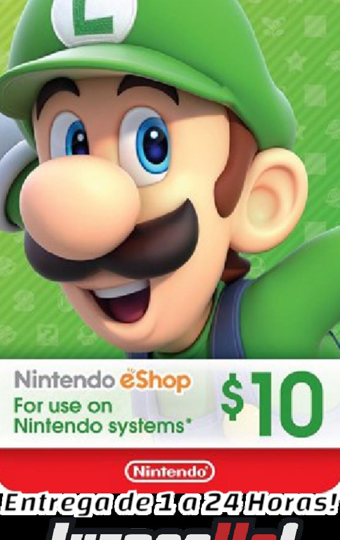 Nintendo Eshop 10Usd USA Cuenta ESTADOS UNIDOS