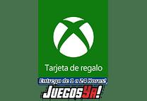 Tarjeta Xbox Recarga $25.900