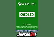 Código Xbox live Gold 12 meses USA