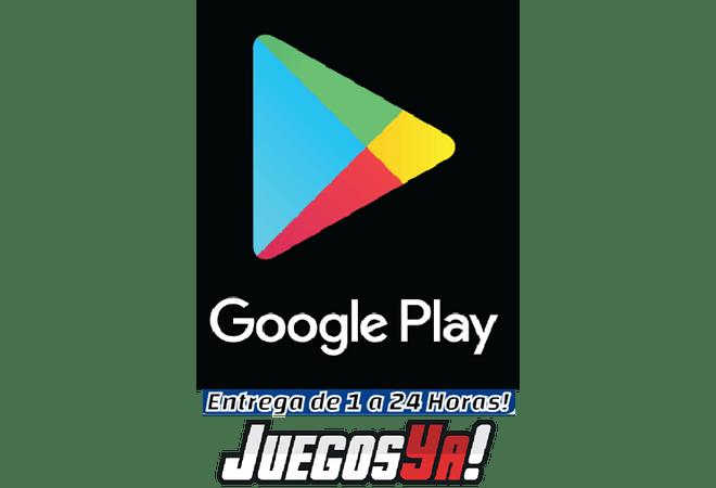 Tarjeta Google Play 10USD USA Cuenta Estados Unidos