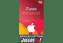 Código Apple 10usd ITunes cuenta Estados Unidos