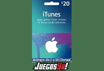 Código Apple 20usd USA Cuenta De Estados Unidos