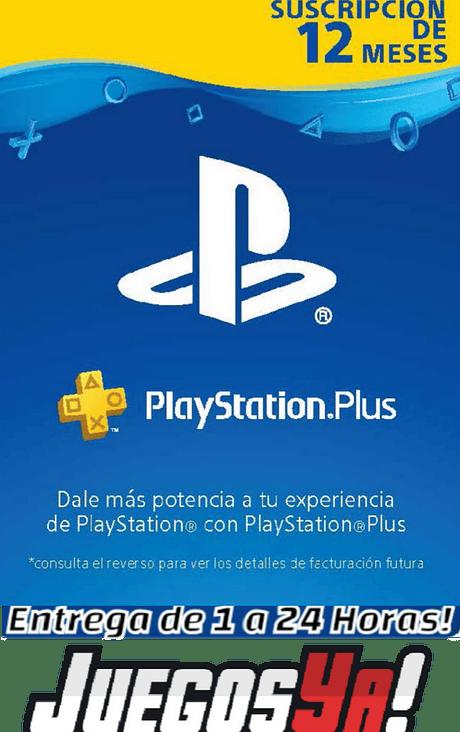 Código Ps Plus 12 meses COL Cuenta Colombiana
