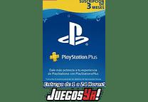 Código Ps Plus 3 meses COL Cuenta Colombiana