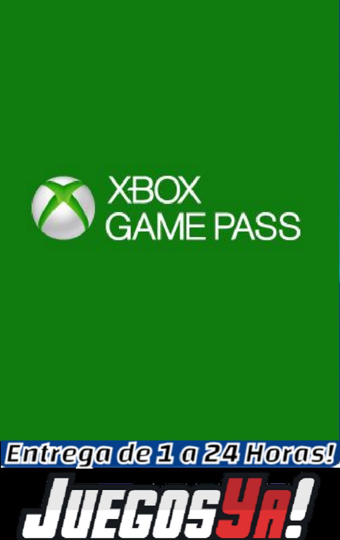 Código Xbox One Game Pass 1 mes