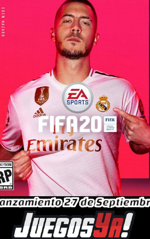 Fifa 2020 Ed Estándar Preventa!! PS4/XONE/SWITCH