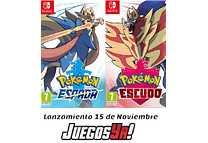 Pokemon Escudo/Espada Switch c/u