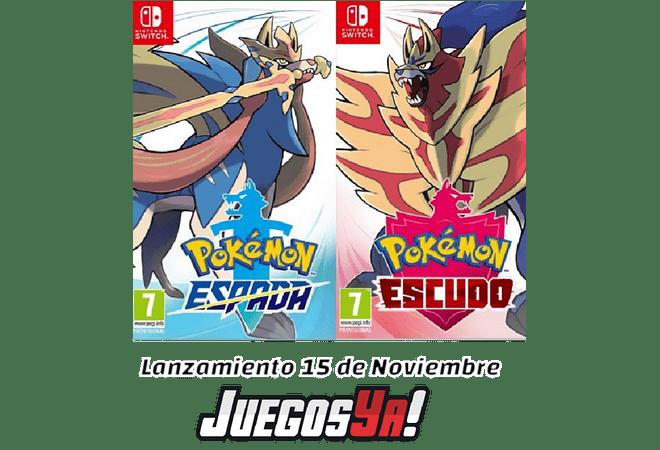 Pokemon Escudo/Espada Switch C/U