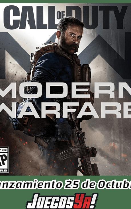 Call of Duty Modern warfare Preventa!!