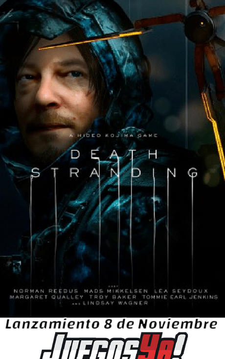 Dead Stranding Preventa!!