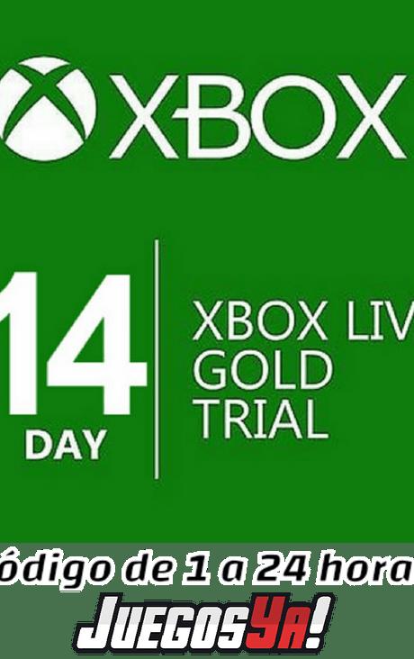Xbox live Gold 14 días Prueba cuentas Nuevas Colombianas