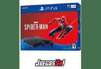PS4 Slim Negra 1TB con 1 juego que desees