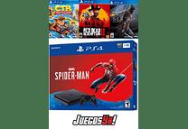 PS4 Slim Negra 1TB con 3 juegos LOS QUE DESEES