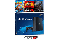 PS4 Pro Negra 1TB +3 juegos
