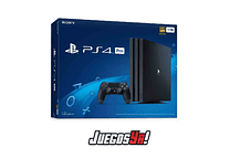 PS4 Pro Negra 1TB + Days Gone nuevo