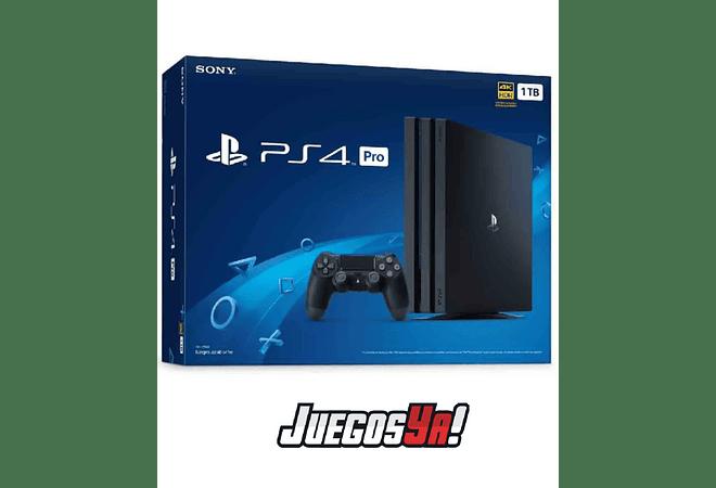 PS4 Pro Negra 1TB + Days Gone nuevo