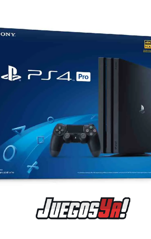 PS4 Pro Negra 1TB