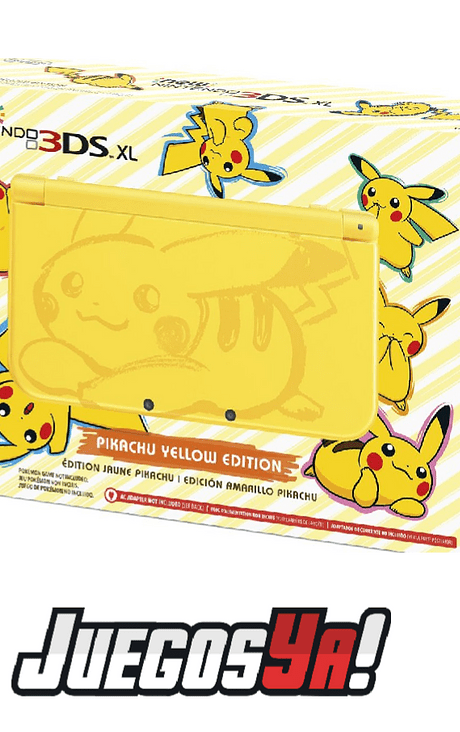 New Nintendo 3ds Xl Pikachu Nueva