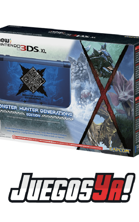 New Nintendo 3ds Xl Ed Monster Hunter