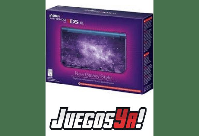 New Nintendo 3ds Xl Galaxy USADA 8/10