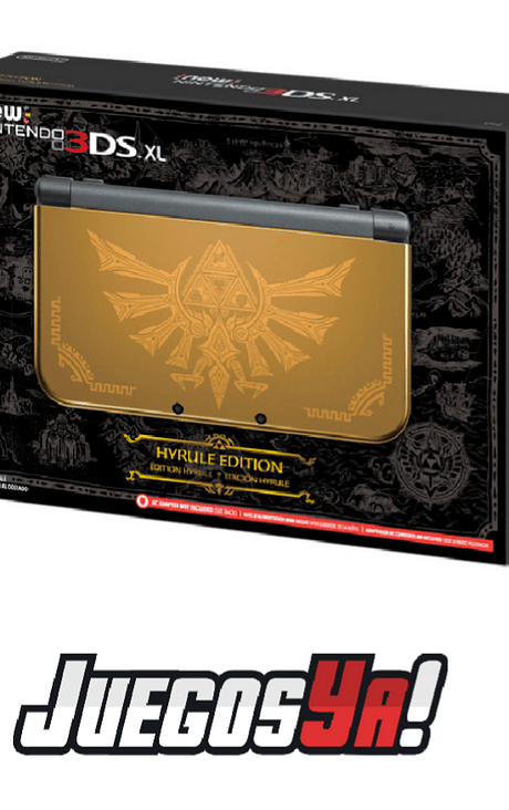 New Nintendo 3ds Xl zelda